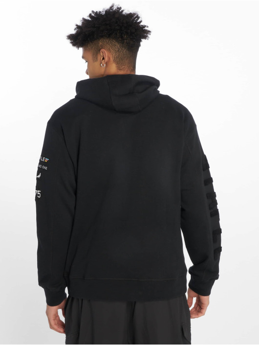 Staple Pigeon Hoody Embroidered zwart