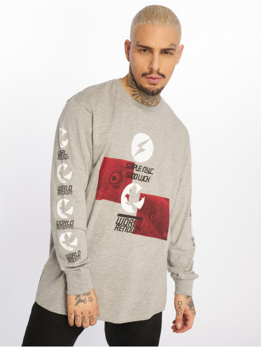 Staple Pigeon Longsleeve Good Luck grijs