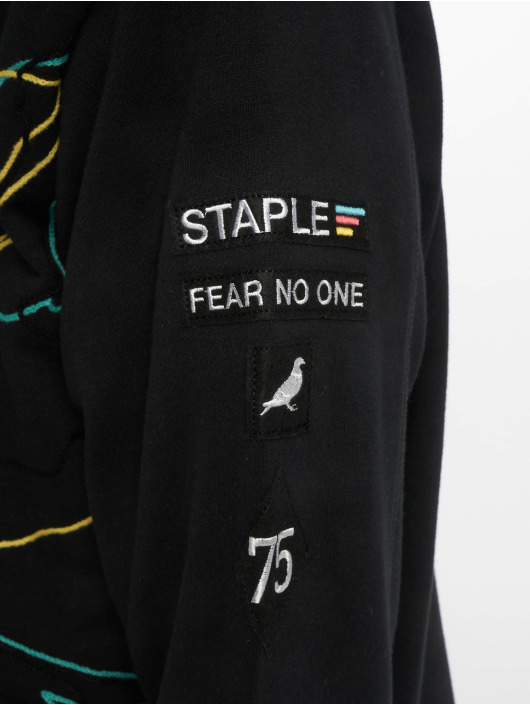 Staple Pigeon Sweat capuche Embroidered noir