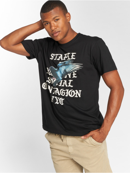 Staple Pigeon T-Shirt Gothic black