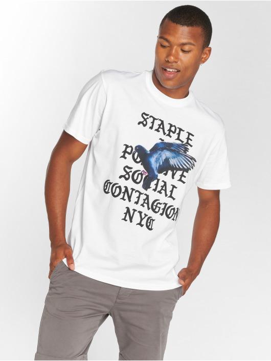 Staple Pigeon T-Shirt Gothic white
