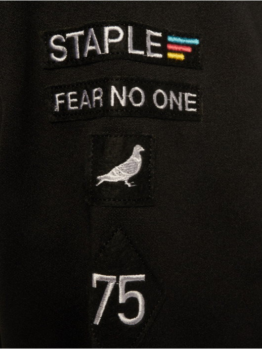Staple Pigeon Veste mi-saison légère Poly noir