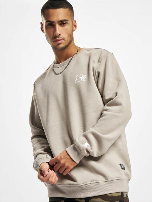 Starter Пуловер Small Logo Crew серый