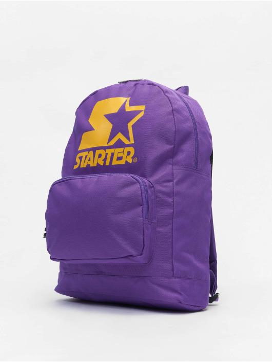 Starter Backpack Logo purple