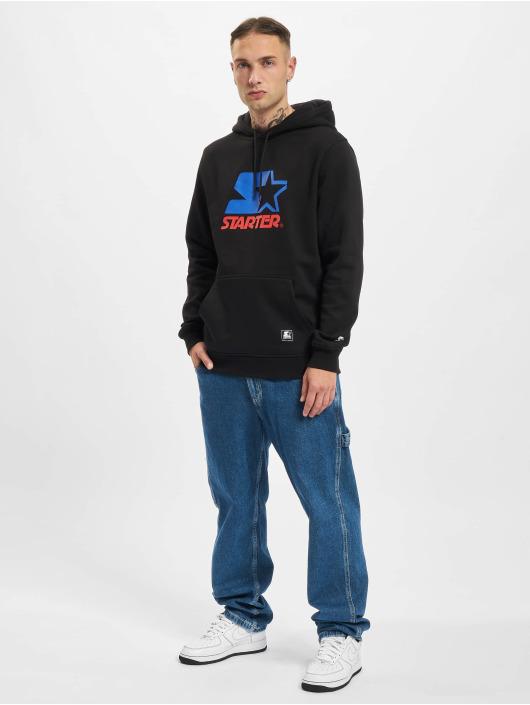 Starter Bluzy z kapturem Two Color Logo czarny