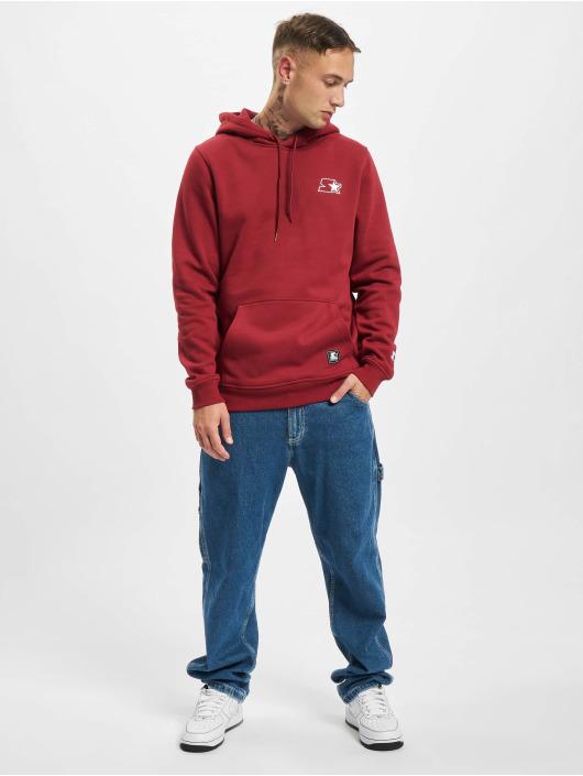 Starter Bluzy z kapturem Small Logo czerwony
