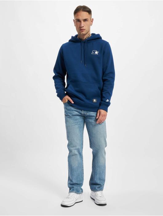 Starter Bluzy z kapturem Small Logo niebieski