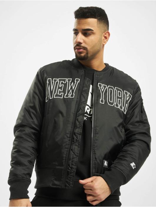 Starter Bomberjacke New York schwarz