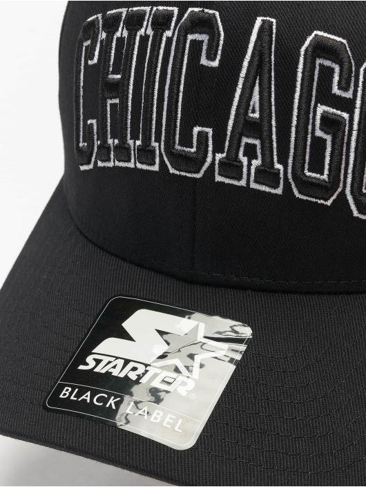 Starter Casquette Flex Fitted Chicago noir