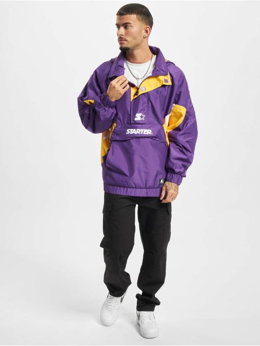 Starter Chaqueta de entretiempo Logo púrpura