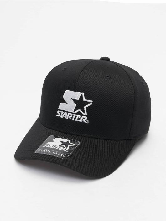 Starter Flexfitted Cap Logo schwarz