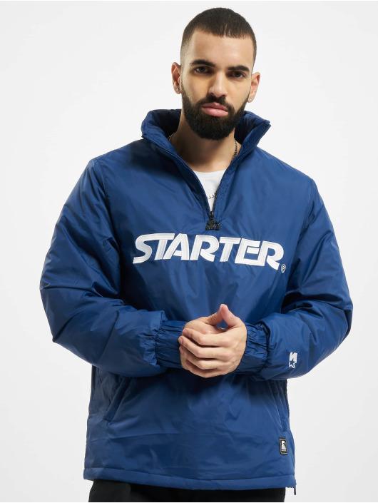 Starter Giacca Mezza Stagione Logo blu