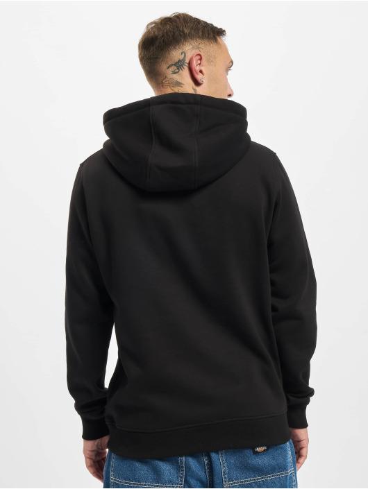 Starter Hoodies Two Color Logo čern