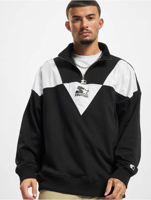 Starter Hoodies Triangle čern