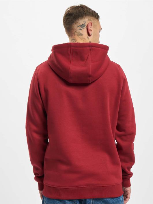 Starter Hoodies Small Logo červený