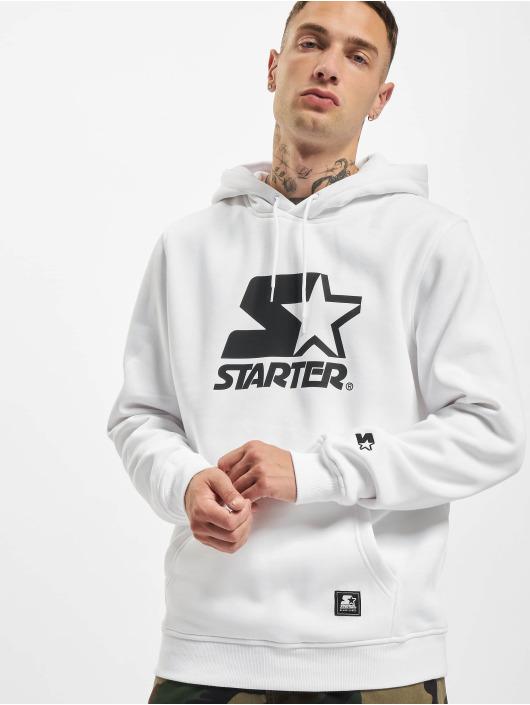 Starter Hoodies The Classic Logo bílý