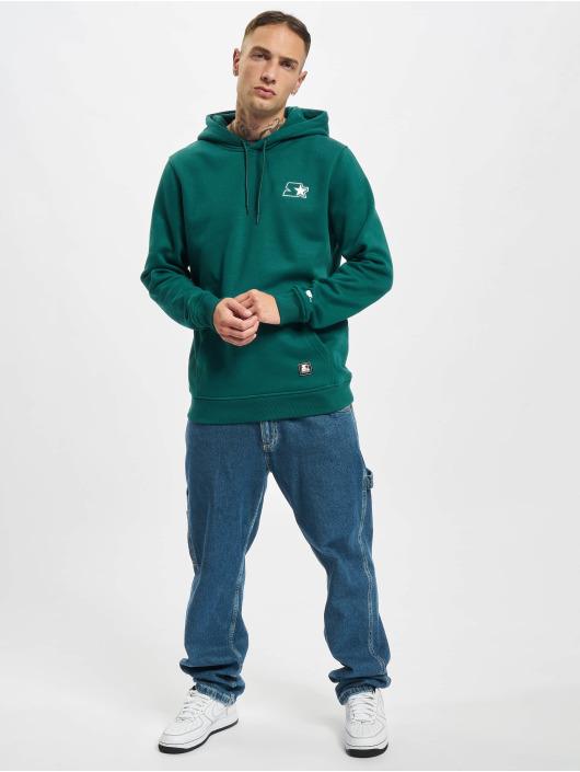 Starter Hoodies Small Logo zelený
