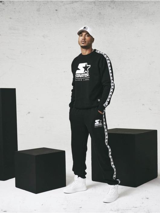 Starter Joggingbyxor Logo Taped svart