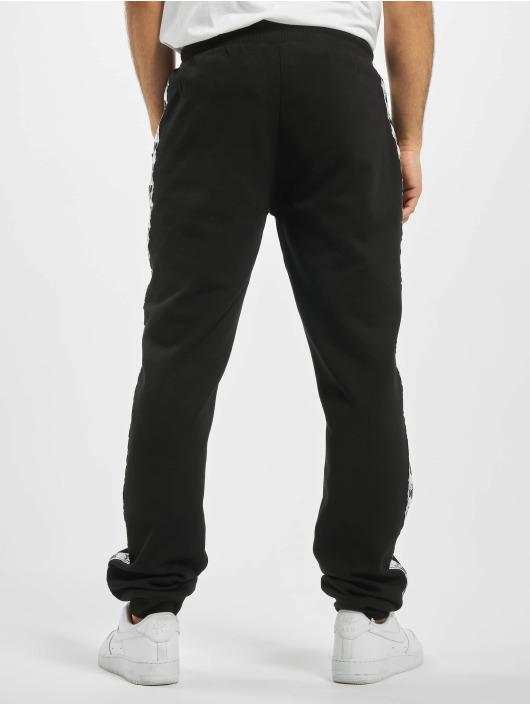 Starter Jogginghose Logo Taped schwarz