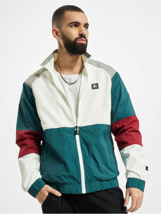 Starter Lightweight Jacket Color Block Retro green