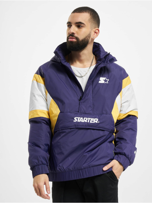 Starter Lightweight Jacket Color Block Half purple