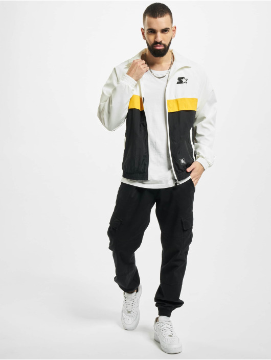 Starter Lightweight Jacket Three Toned Jogging white