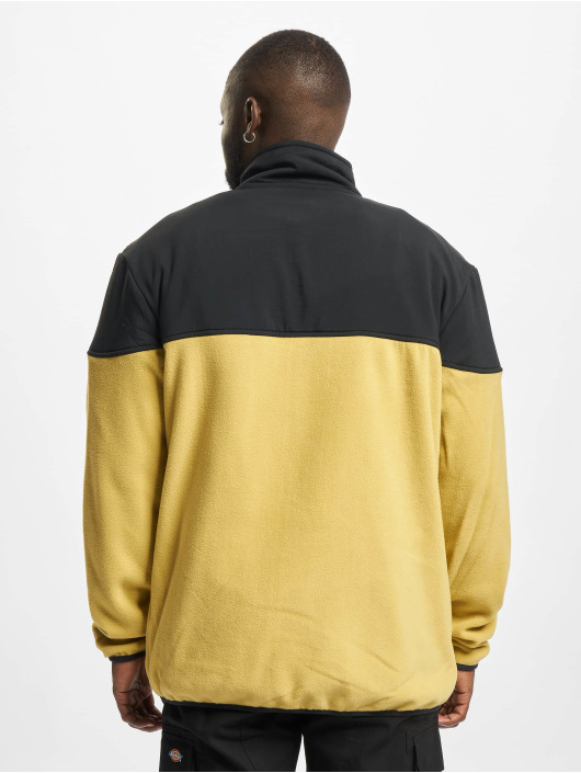 Starter Overgangsjakker Polarfleece gul