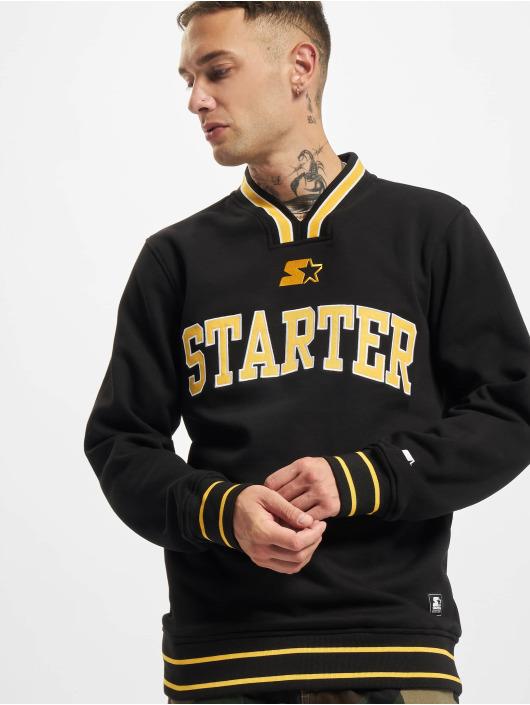 Starter Pullover Team Logo Retro black