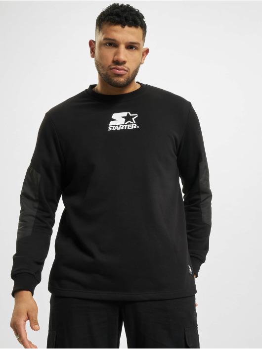 Starter Pullover Panel schwarz