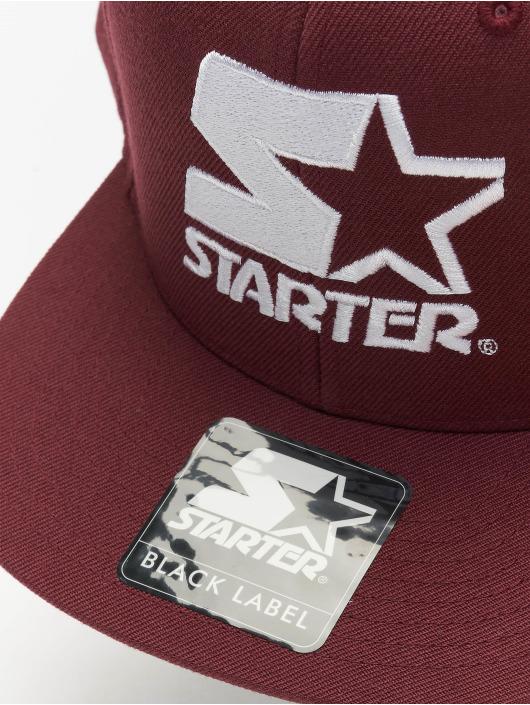 Starter Snapback Cap Logo rot