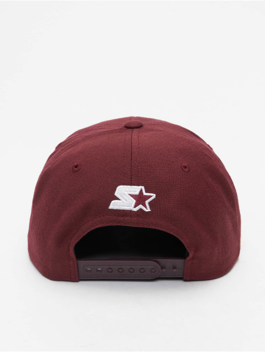 Starter Snapback Caps Logo punainen