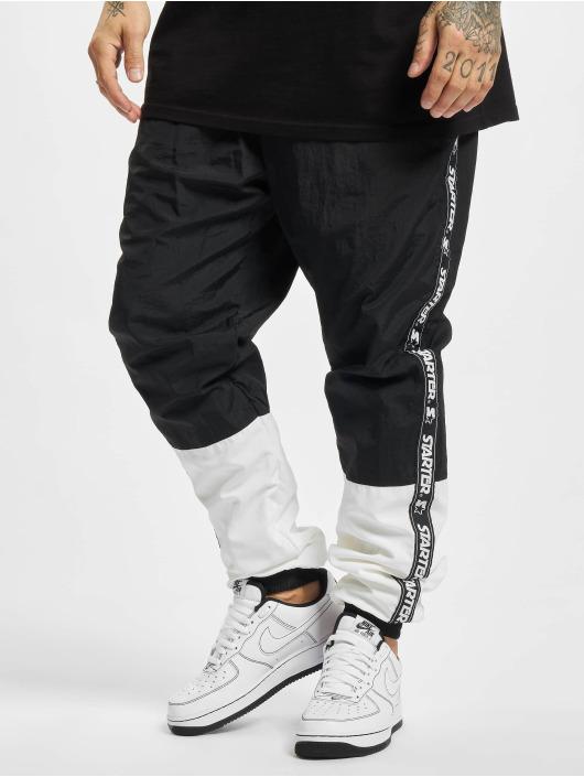 Starter Spodnie do joggingu Two Toned czarny