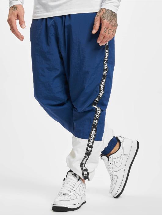 Starter Spodnie do joggingu Two Toned niebieski