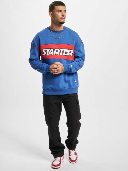 Starter Sweat & Pull Color Block Crew bleu