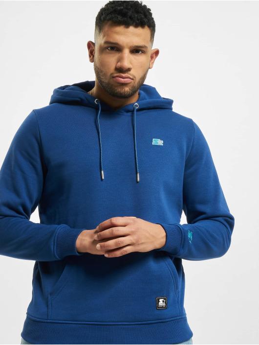 Starter Sweat capuche Essential bleu