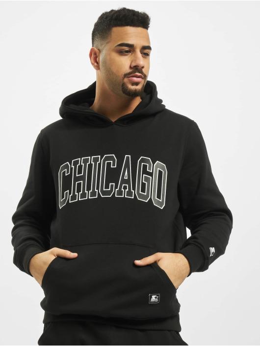 Starter Sweat capuche Chicago noir