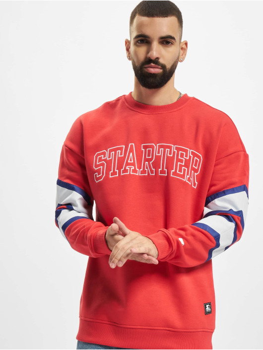 Starter Swetry Team Front czerwony