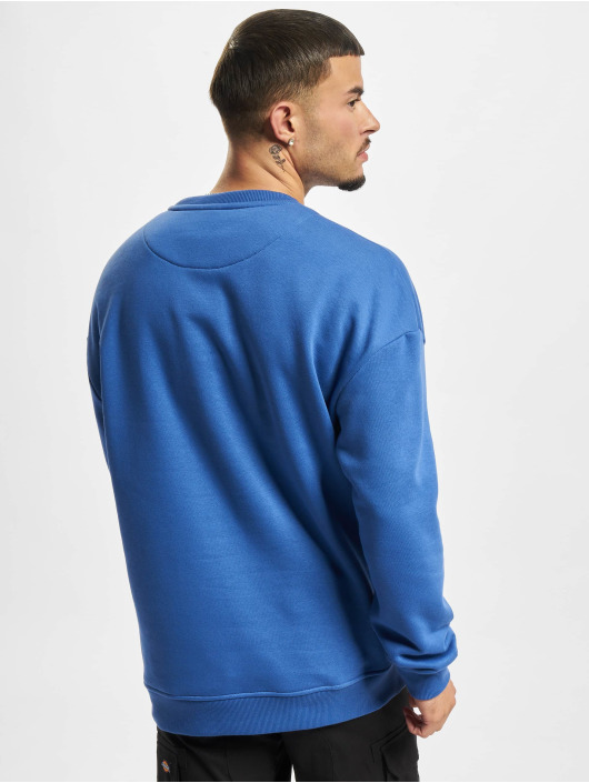 Starter Swetry Color Block Crew niebieski