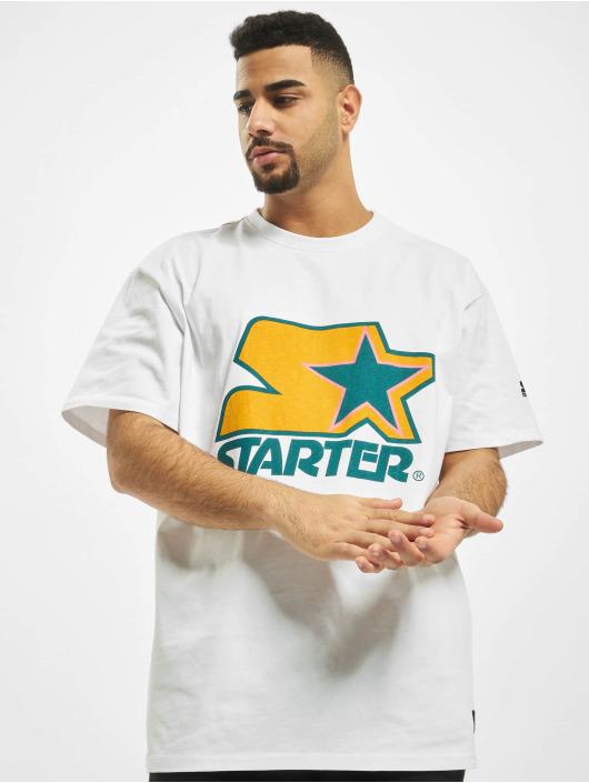 Starter T-shirt Colored Logo bianco