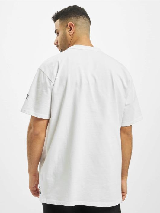 Starter T-Shirt Colored Logo blanc