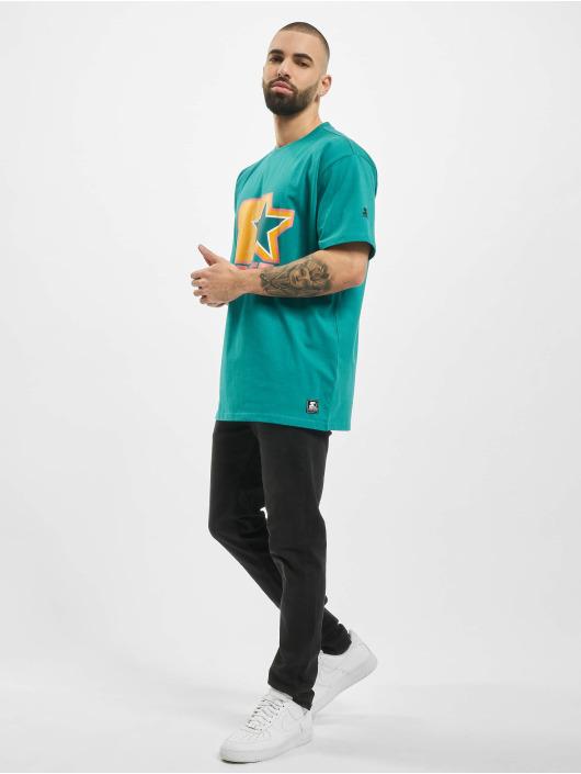 Starter T-Shirt Colored Logo grün