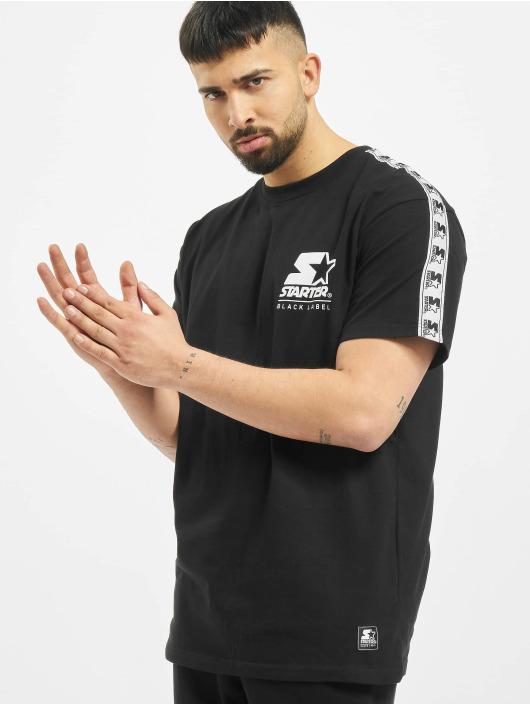 Starter T-Shirt Logo Taped noir