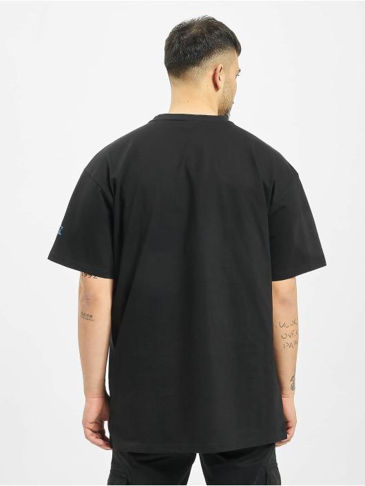 Starter T-Shirt Multicolored Logo schwarz