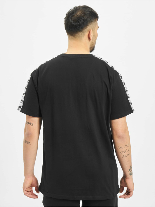 Starter T-Shirt Logo Taped schwarz