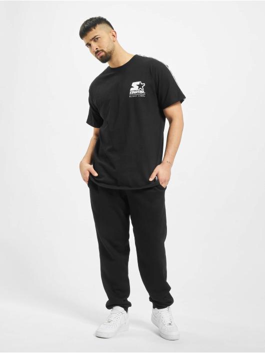 Starter T-Shirt Logo Taped schwarz