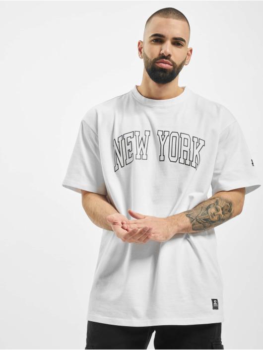 Starter T-Shirt New York weiß