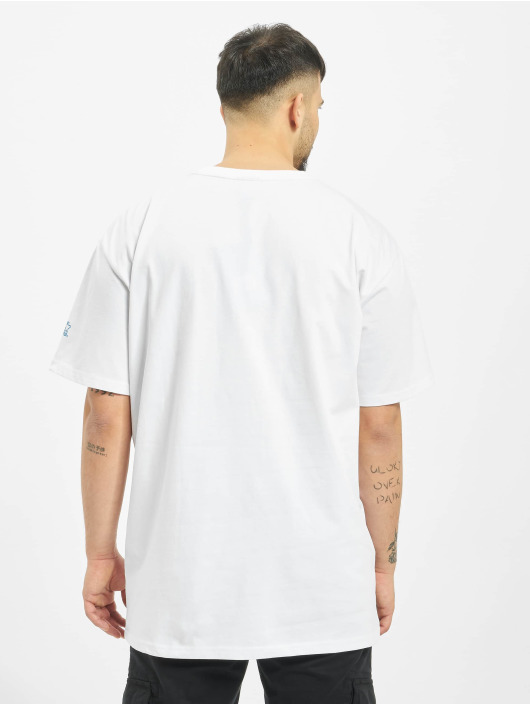 Starter T-Shirt Multicolored Logo weiß