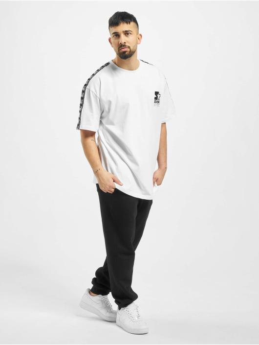 Starter T-Shirt Logo Taped weiß