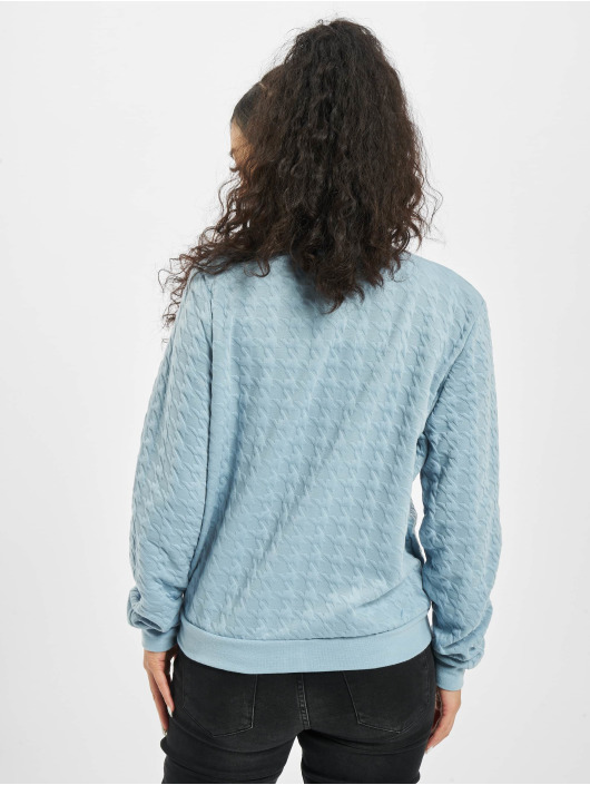 Stitch & Soul Куртка-бомбардир Embossing синий