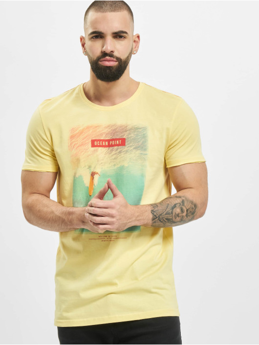 Stitch & Soul Футболка Mystic желтый